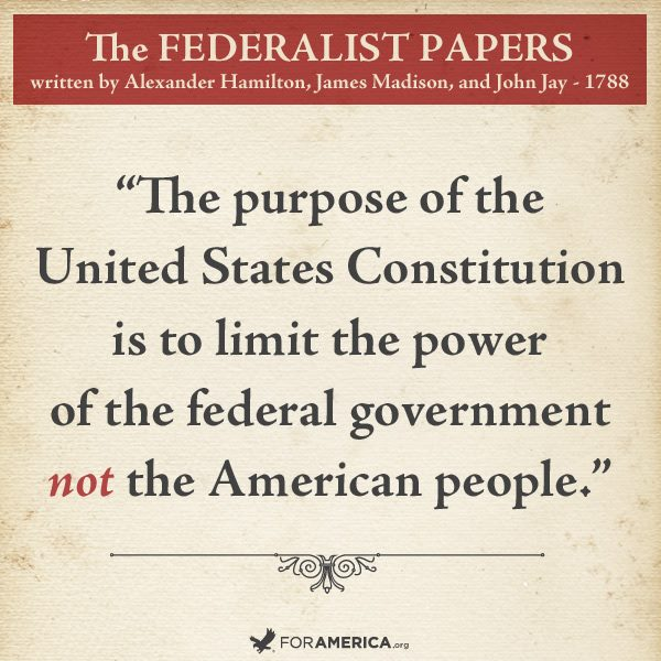 Limited Government The Constitution